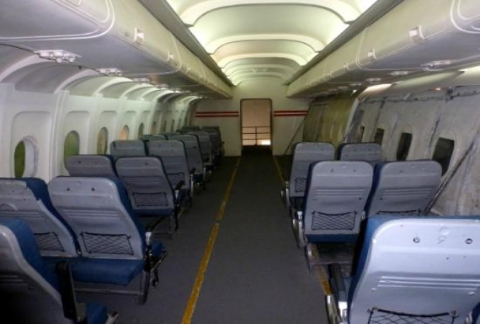 give location details of this aircraft interiors available for shooting