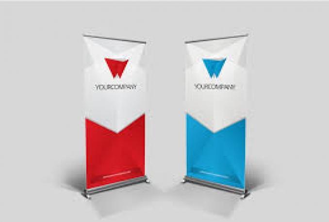 design a COOL roll up banner