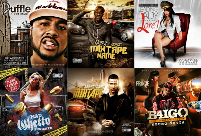 design an AWESOME Mixtape or Album cover