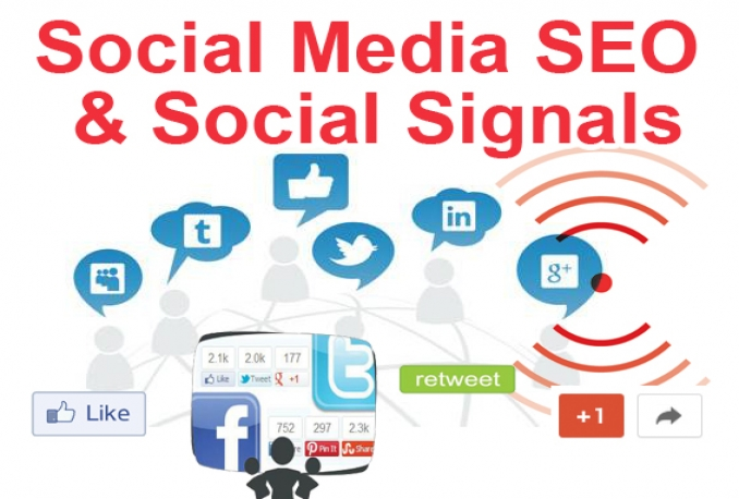 3000 Social Signals Monster Pack from 2 top Social Networking Sites to any link