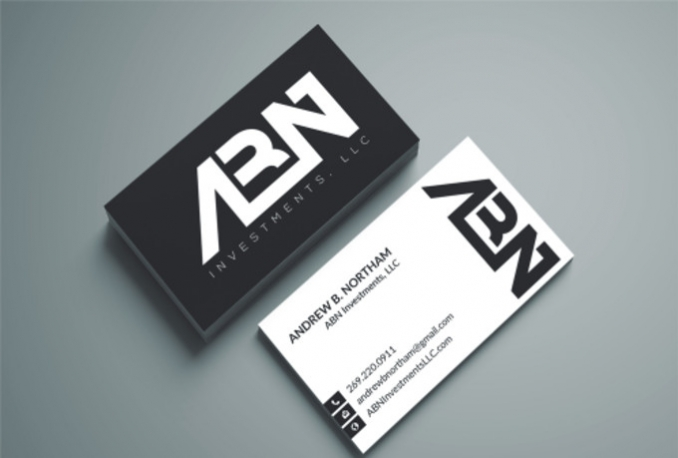 create PROFESSIONAL business card design