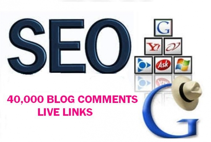provide over 40,000 Live SEO Blog Comment Backlinks, Improve Your Iink building