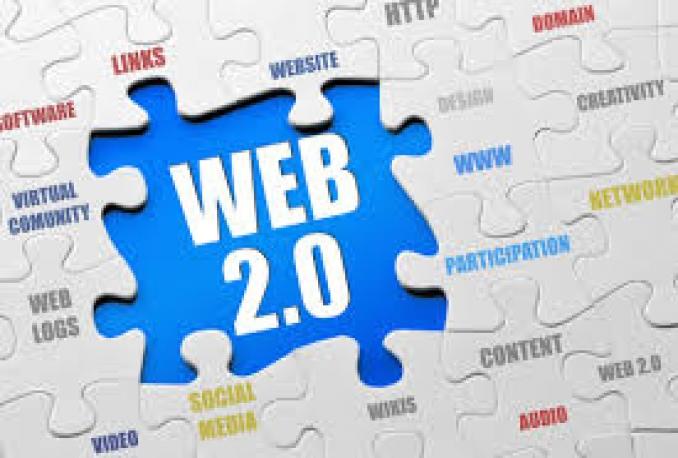 make 30 web 2,0 properties,2500 social bookmarks backlinks