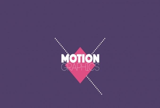 do 3d animation and motion graphics