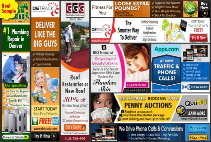 design Professional Banner Ads in 24Hrs