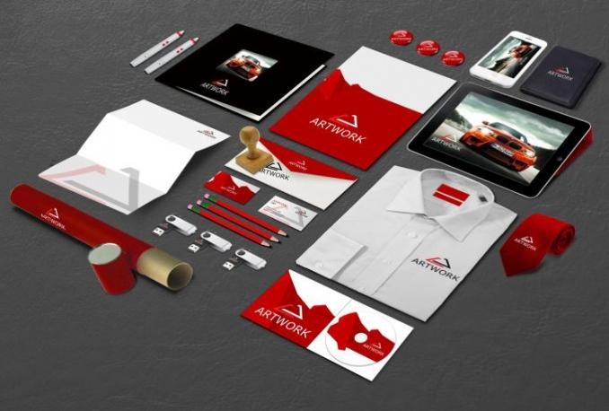 design business card or Letterhead or stationary Print ready