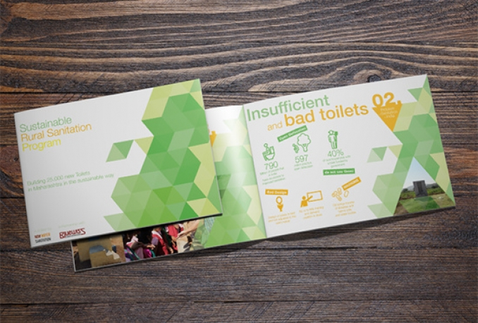 do awesome brochures design