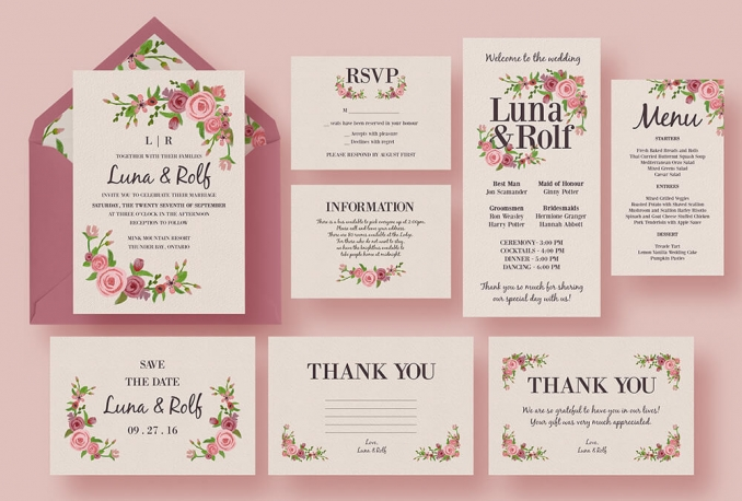 design your themed BIRTHDAY Card or any Invitation Card