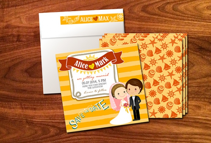 design amazing wedding cards the way you want them to be