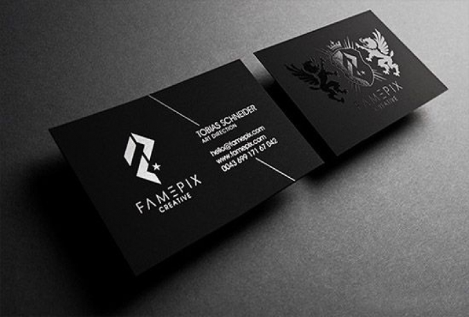 design Elegant Business card and stationery