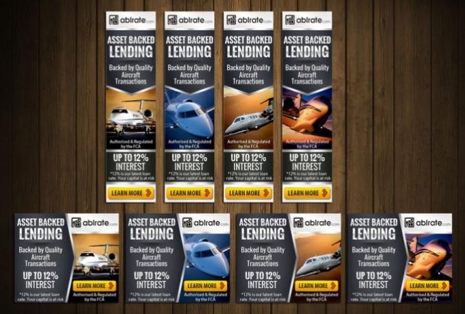 design PROFESSIONAL Banner ads