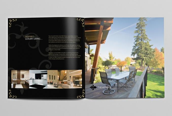 do an OUTSTANDING flyer, postcard or brochure