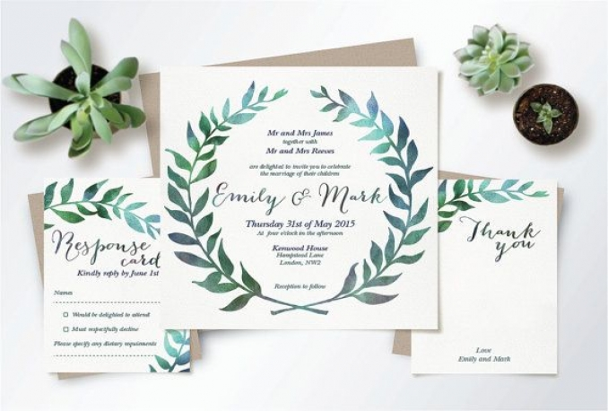 design a customized digital or printable invitation