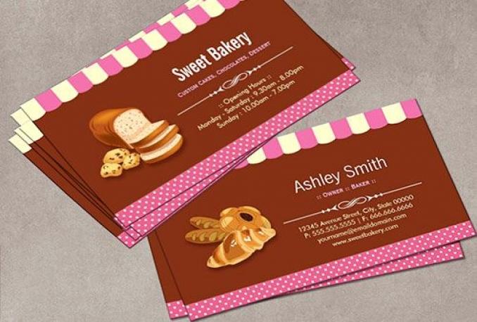 design an AMAZING business card