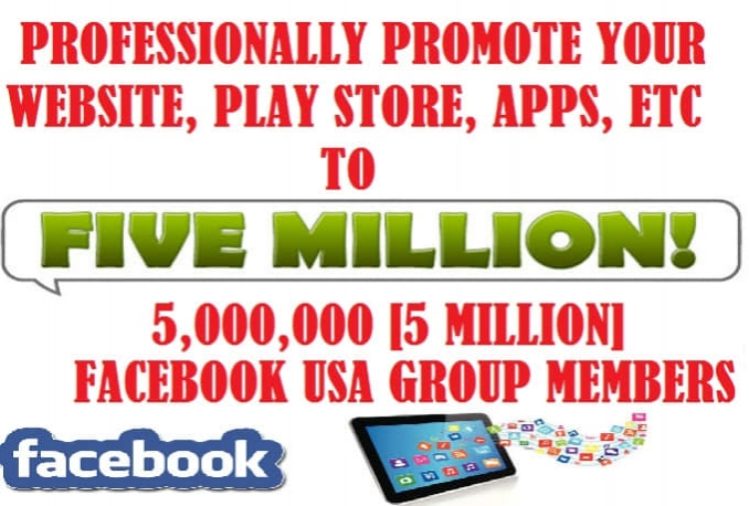 professionally promote your website, play store, apps