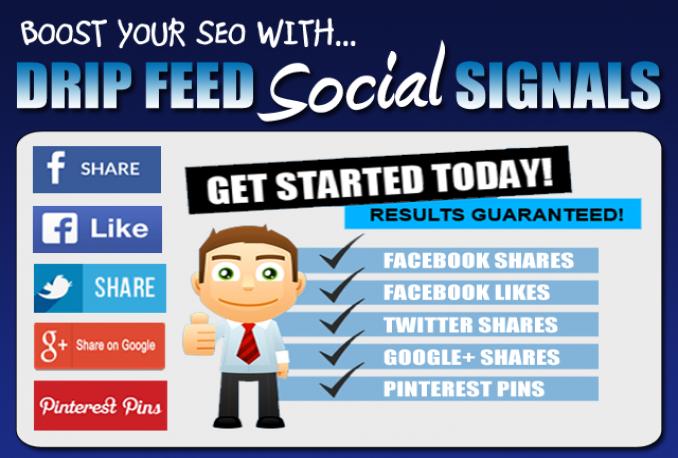build 3500 High quality social signal