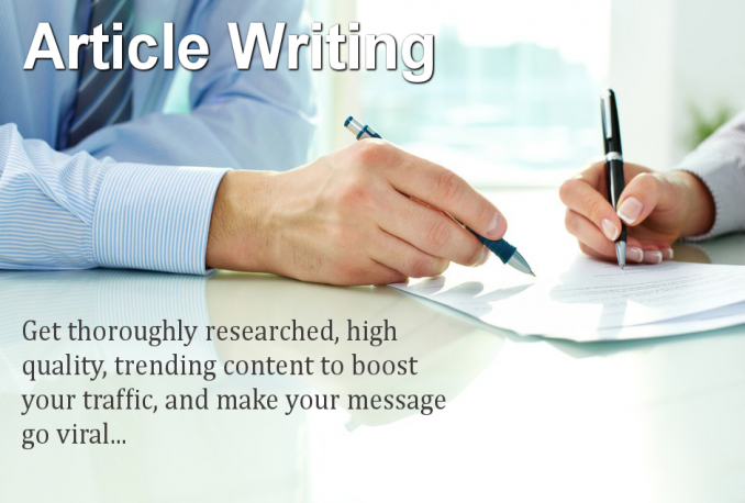 write an Exclusive SEO Article for Your Blog or Website