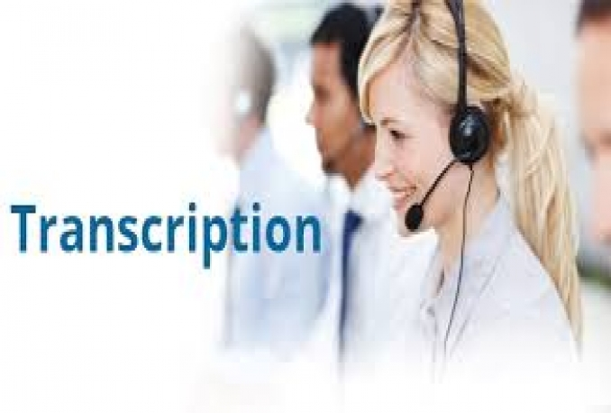 do flawless transcription for any English Audio or Video