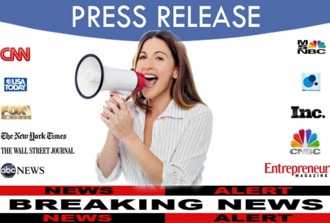 write a press release and distribute it