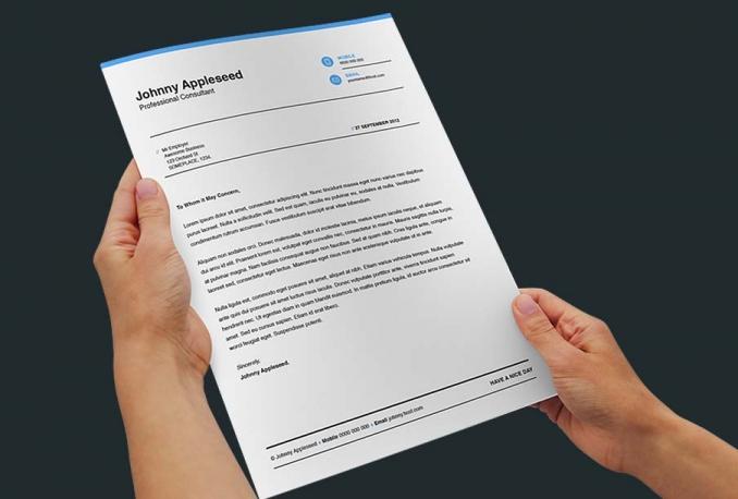 design CV, Resume, Curriculum vitae, Cover letter