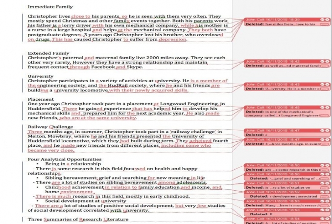 proofread and edit up to 500 words in English
