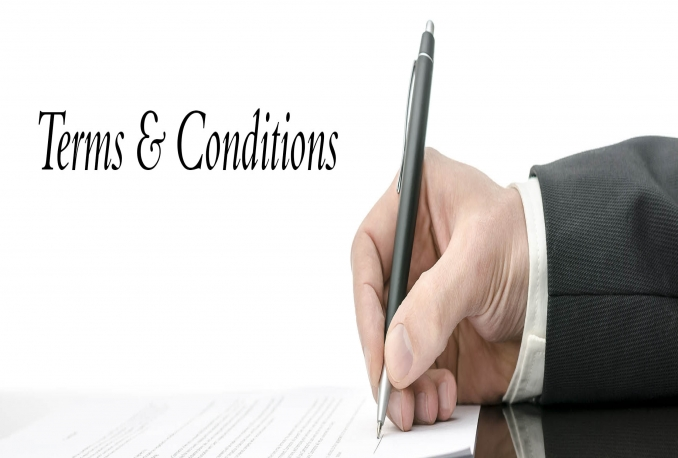 terms and Conditions, Privacy Policy, Trust, Contracts, Briefs, Motions