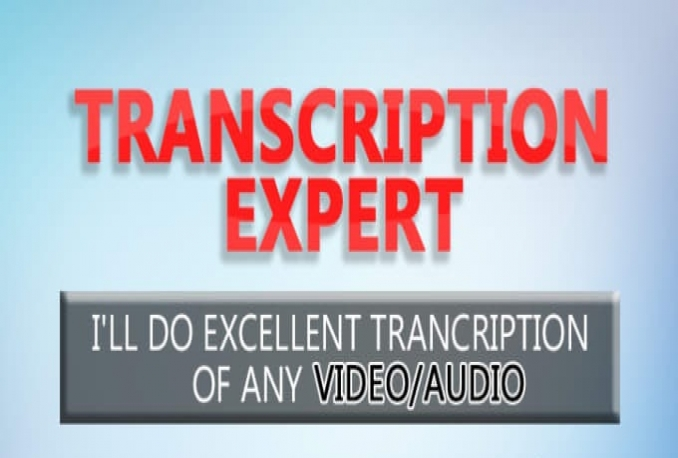 do Flawless transcription for any English video or audio