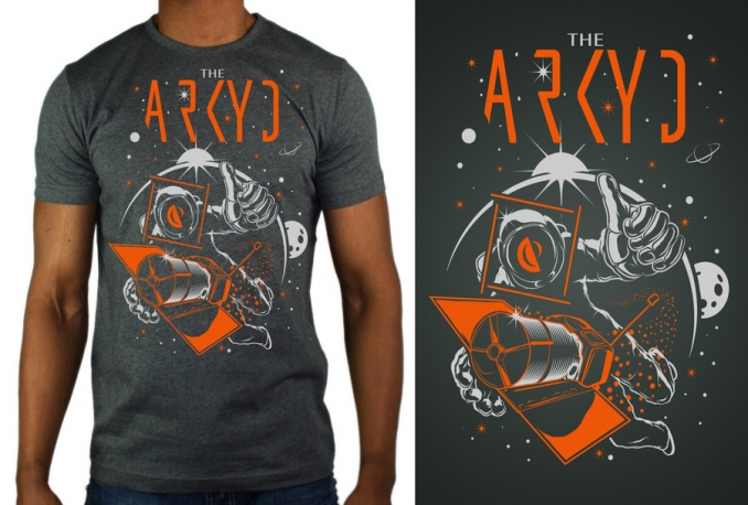 professionally create design and do logo Mockup on T Shirt