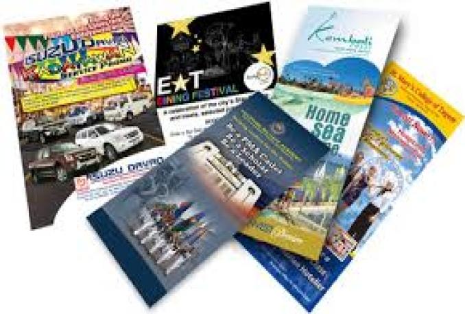 design Brochure, Flyer UNLIMITED Revision