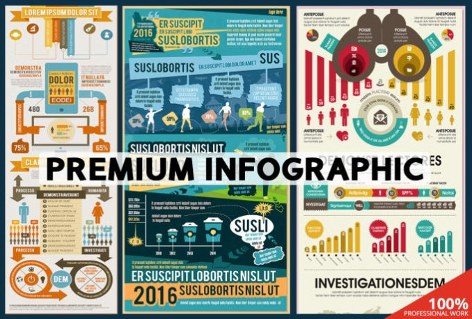 create an unique infographic