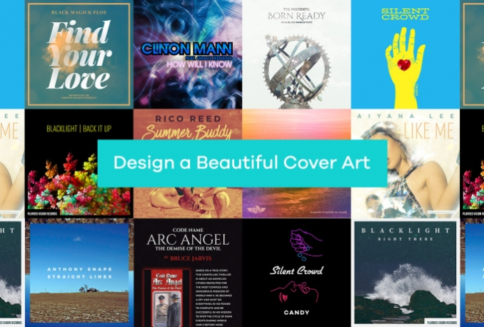 design a beautiful cover art