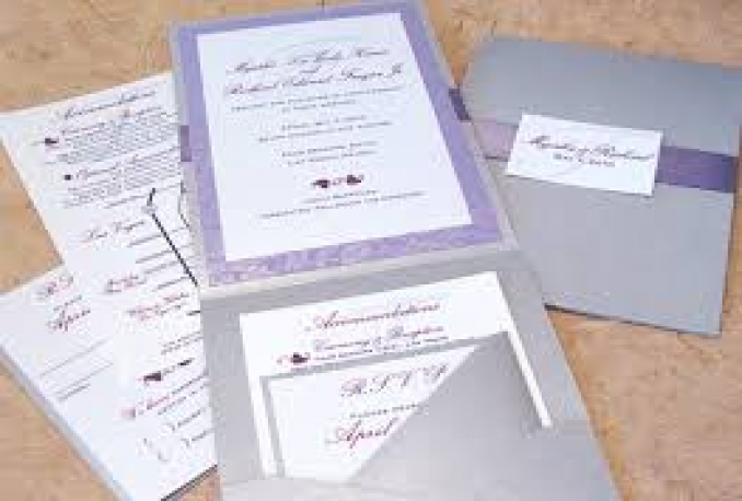design a BEAUTIFUL invitation for your event