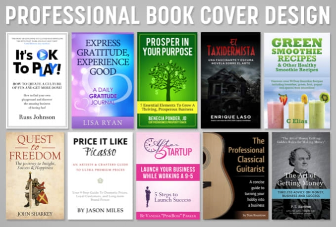 design a professional book cover