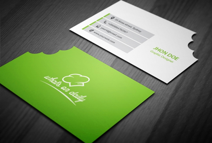 design a stunning business card