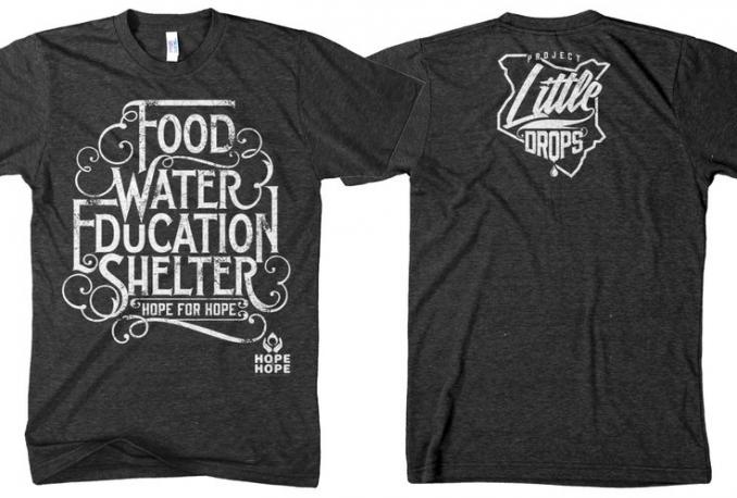 creative viral tee spring T-shirt design