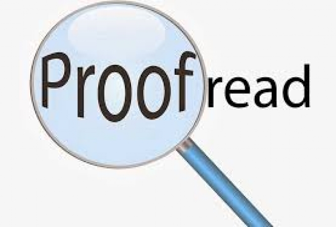edit and proofread your document