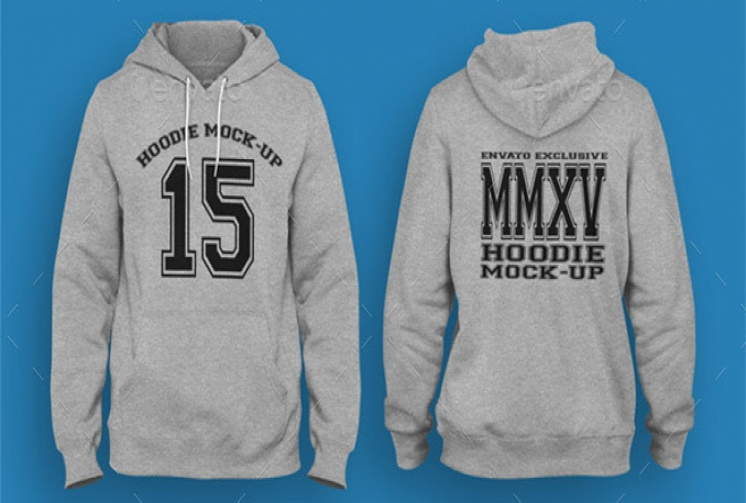 make a hoodie mockup with your design