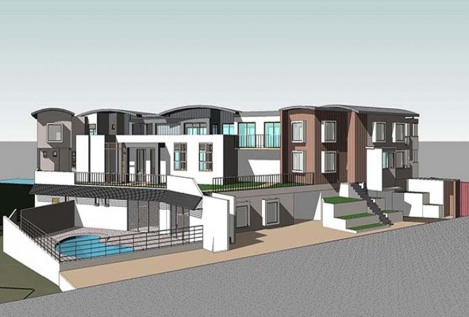 do 3D Architecture model with Revit