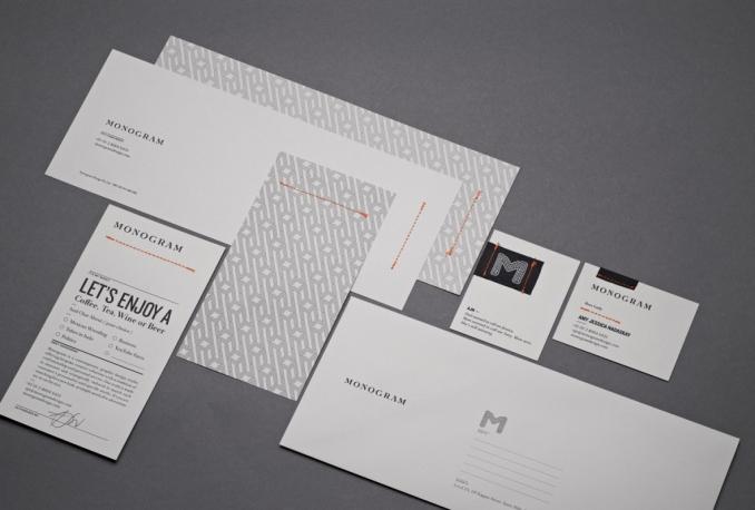 design Business card, Letterhead, Envelope