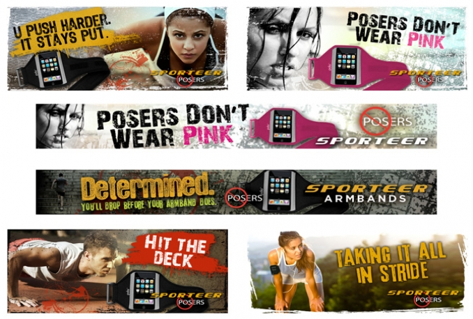 design FABULOUS web banners,any size