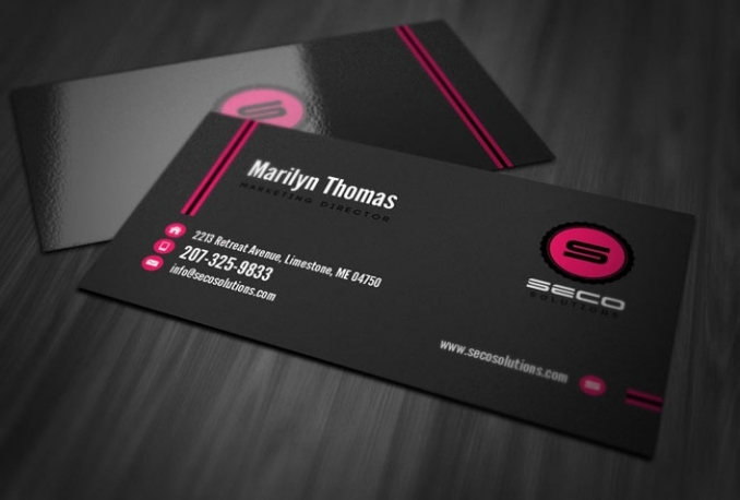 design MAGNIFICENT Business Card