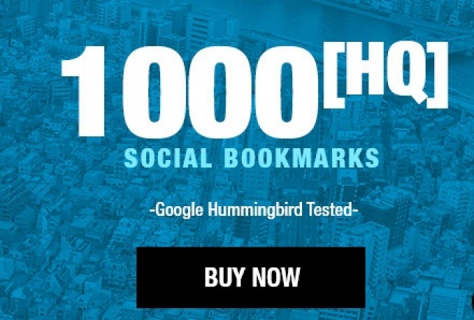 add your site to 1000 SEO social bookmarks, Quality Build