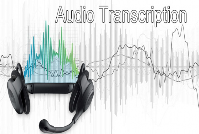 do Your Outstanding 15 Minutes Audio or Video TRANSCRIPTION