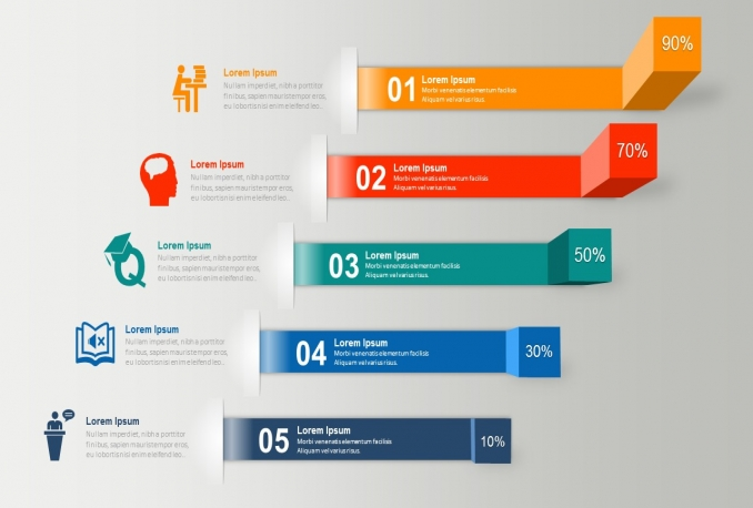 design infographics and presentation elements