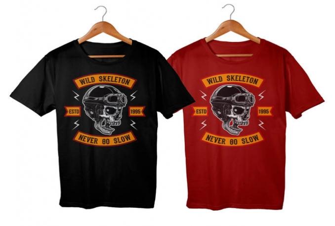 create Trendy T Shirt Design