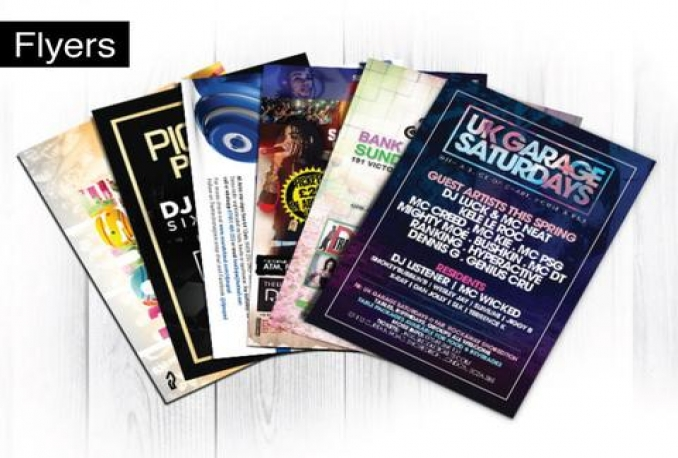 design professional flyers