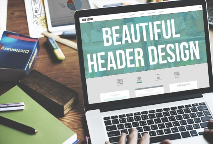 design awesome headers and banners for websites and socials