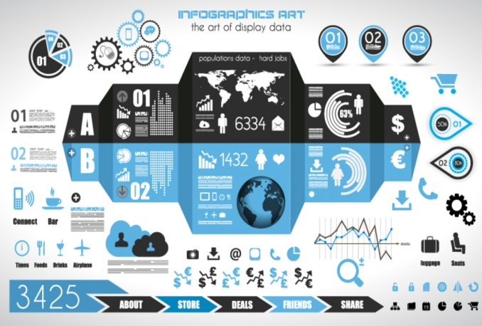 create eye catching infographic