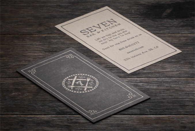 design ELEGANT business card