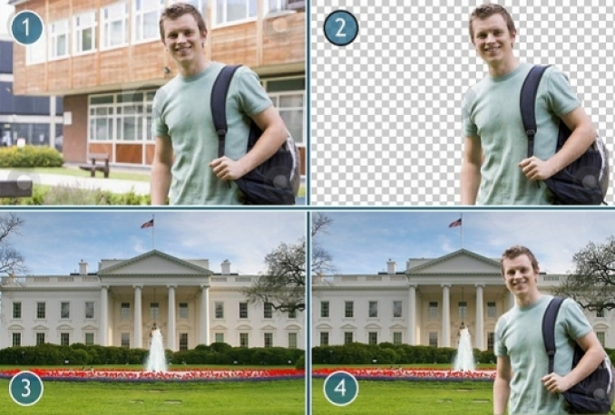 remove background and create incredible photo editing